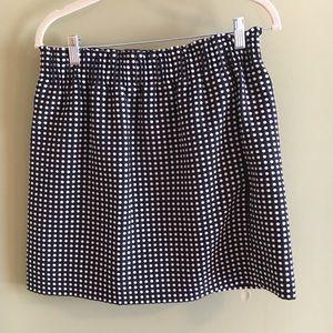 J. Crew cotton skirt, size 8